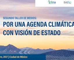 Segundo taller de medios: Por una agenda climática con visión de Estado.